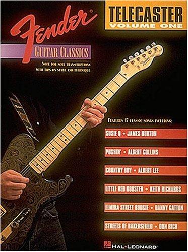 Telecaster, Volume 1 (Fender Guitar Classics series)