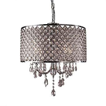sailun kristall h ngelampe lampenschirm kronleuchter deckenlampe l ster pendelleuchte. Black Bedroom Furniture Sets. Home Design Ideas