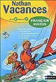 Français Maths : De la 4e vers la 3e (Français-Math N)