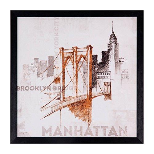 Tableau Manhattan Noir 40 x 40