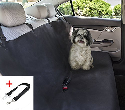 PETTOM Coprisedile per Cani Auto Posteriore Amaca Universale Copertura per Sedili Telo Protezione per Bagagliaio Auto Impermeabile 142×119 CM