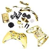 Golden Schutzhüll Voll Gehäuse Schale Fall Bausatz Ersatzteile für Xbox 360 Drahtlos Regler