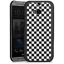 HTC One M8s Housse Étui Protection Coque Jeu d'échec Ska Carré