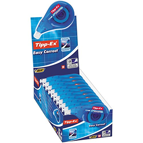BIC Tipp-Ex Easy correct - 10 box 4,2 correction tapes mm x 12 m