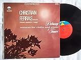3140 CHRISTIAN FERRAS & PIERRE BARBIZET Debussy / Faure Violin & Piano LP