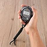 Digital LCD Sports Chronomètre professionnel étanche Sports chronographe
