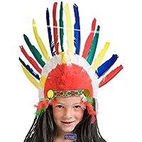 indios joyas indio tocado Muelle joyas fastnacht de carnaval