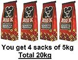 20 kg de carbón de leña para barbacoa