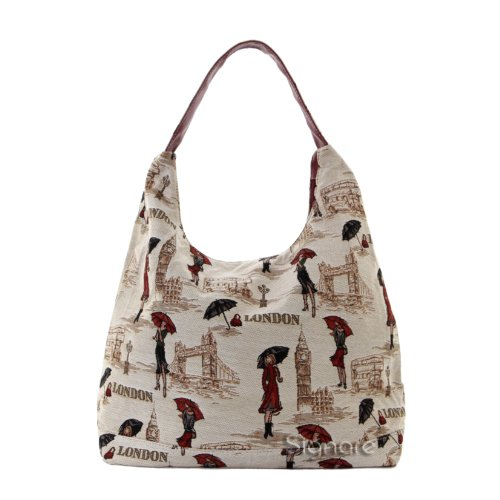 Signare besace sac d'épaule tapisserie mode femme Mademoiselle Londres