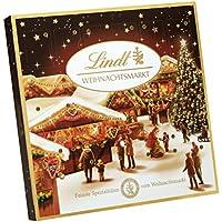 Lindt & Sprüngli Table de marché de Noël Calendrier de l'Avent, 115g