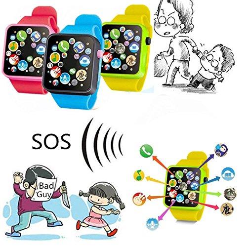 Nisels Reloj Educativo de la Infancia del Reloj de Pulsera del niño Reloj de Juguete de la música...