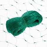Smartfox Vogelschutznetz für Beerensträucher und Obstbäume 8 x 10m in grün
