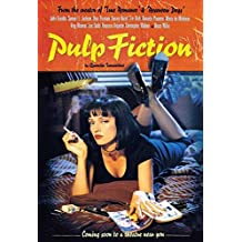 ComCard Pulp Fiction filmplakat MIA Wallace UMA Thurman Schild aus blech, Metal Sign, Tin