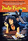 Pulp Fiction filmplakat Mia Wallace Uma Thurman schild aus blech, metal sign, tin