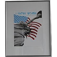 Dörr - Nueva york foto 9x13 cm marco de 50x70 cm tamaño de marco de fotos 18 de 7 colores: color: acero | formato: 50x70