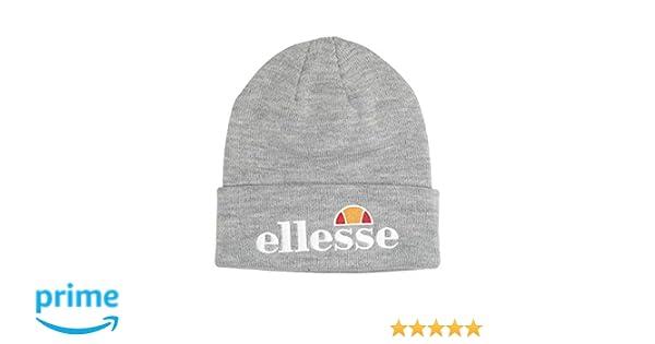 bece97b8 ELLESSE BEANIE VELLY BLACK FINE KNIT LOGO HAT