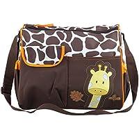 736008050c TRIXES Borsa per Cambio Neonati con Giraffa - Incluso Tappetino per il Cambio  e Busta Trasparente