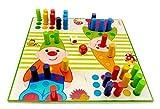 Hess Spielzeug 15508 - Brettspiel aus Holz, Zwerge