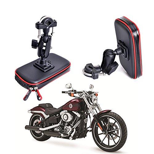 Cheeroyal Soporte de teléfono Motocicleta, Resistente al Agua, Soporte Universal para teléfono...