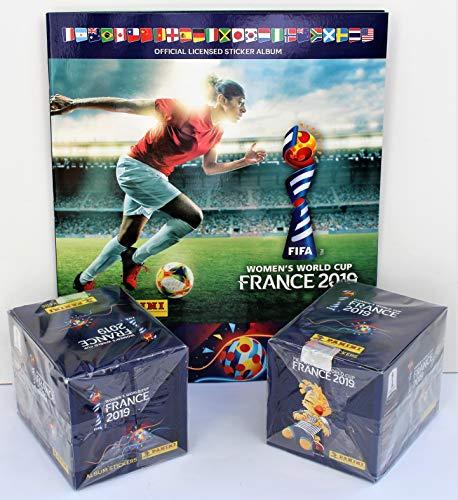 12ca446d5 Panini FIFA Womens World Cup 2019 - 2 x sealed box = 100 packs + empty