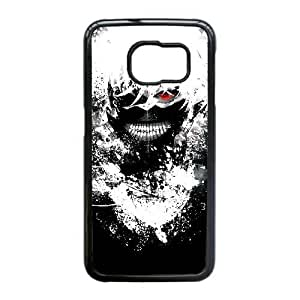 Samsung Galaxy S6 Edge Case, Tokyo Ghoul Samsung Galaxy S6 Edge Cell phone case Black-PAAQ7572778