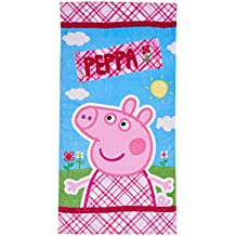 Peppa Pig ABB3515 - Toalla de playa, 70 x 140 cm
