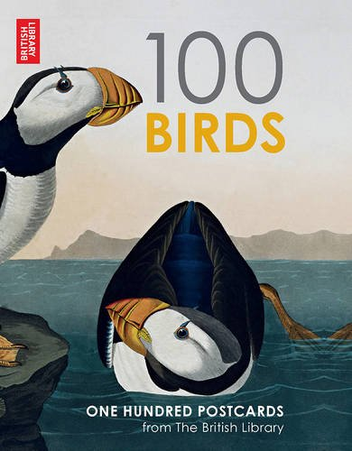 British Library 100 Birds from around the World: 100 Postcards in a Box (Postcards Boxset)