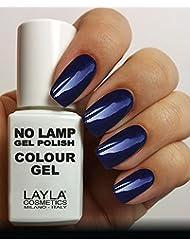Layla Cosmetics Milano No Lamp Gel Polish Vernis à Ongles Rome By Night