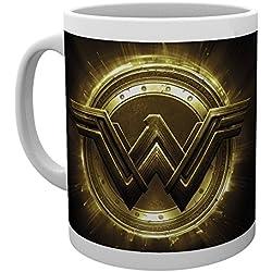 GB Eye LTD, Justice League Movie, Wonder Woman Logo, Taza de cerámica