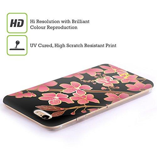 Head Case Designs Orange Rose Mod - Motifs Étui Coque en Gel molle pour Apple iPhone 7 Plus / 8 Plus Cherry Blossom