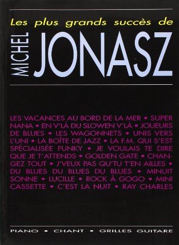 Jonasz Michel Les Plus Grands Succes Piano Vocal Guitar Book