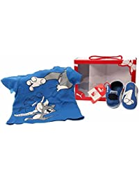 Crib Pack Tom & Jerry Strong Blue White