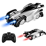 ACECHUM Remote Control Car, Kids Toys For Boys Girls, Dual Mode 360Rotating Stunt Wall Climbing Car With Remote Control, Head And Rear LED Lights, Intelligent Glowing USB Cable, Girl And Boy Gifts