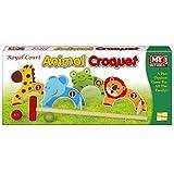 KT M.Y Giochi all'aperto - Croquet Animal - Giochi per Bambini all'aperto