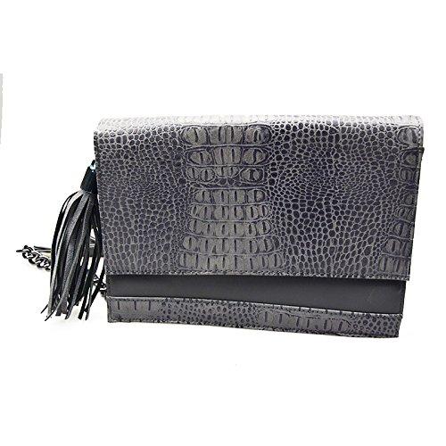 Ljiang Simple Mode Xiekua Paket Tasche gray