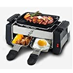tapu&tinu Kitchen Indoor Nonstick Electric Barbecue Grill with Frying and Roasting Function