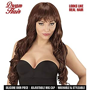 WIDMANN 06448peluca Melania marrón en Drea mhair Calidad, mujer, One size