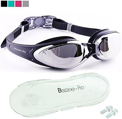 Gafas de Natación Anti Niebla - Herméticas - Visión De 180 Grados Estuche y Tapones Para Los Oídos