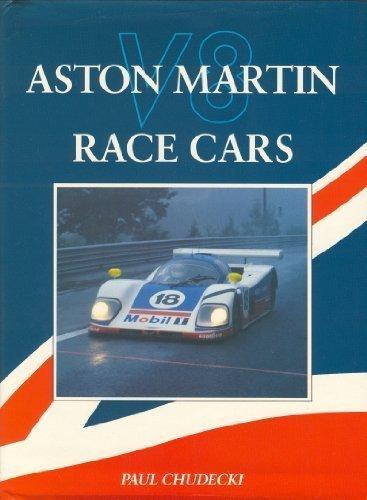 Aston Martin V8 Race Cars por Paul Chudecki