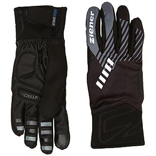 Ziener Herren DIMO AS(R) Touch Bike Glove Bikehandschuh, Black, 9.5
