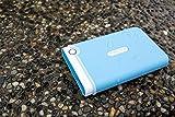 Transcend StoreJet 2.5 inch 1 TB Auto-Backup Drive (Light Blue)