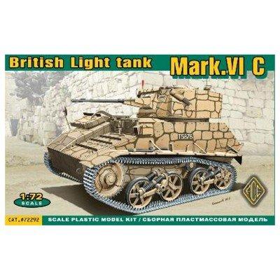ACE 72292: Mark.VI C British light tank in 1:72 (72 British Light)