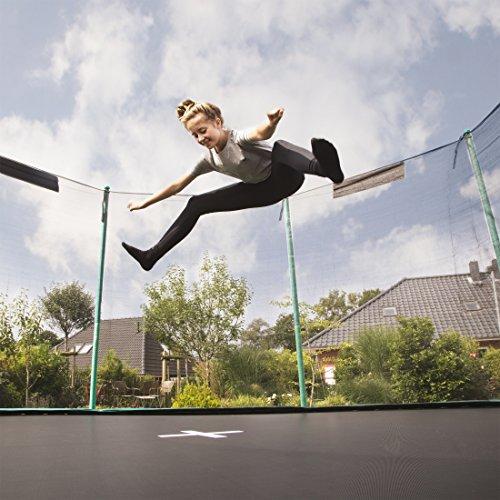 Ultrasport Gartentrampolin Jumper, Trampolin Komplettset inklusive Sprungmatte, Sicherheitsnetz, gepolsterten Netzpfosten und Randabdeckung - 3