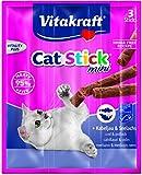 Vitakraft - Cat Stick Mini Merluzzo E Tonno Gr. 18