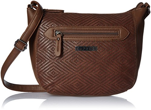Caprese Lilia Women's Sling Bag (Brown)