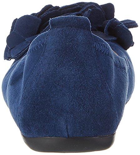 Andrea Conti 0097407, Ballerines femme Bleu foncé