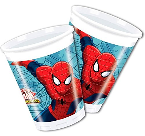 11 99 36tlg partyset spiderman fr 8 kinder partygeschirr und zubehr fr kindergeburtstag. Black Bedroom Furniture Sets. Home Design Ideas