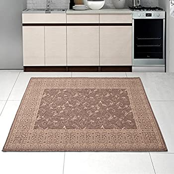 Teppich Für Küche amazon de teppich küche viereckig küchenteppiche muster kaffee in