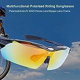 DELICACY Fahrradbrille Sport Sonnenbrille für Herren und Damen Polarisierte