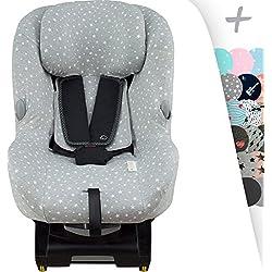 Custodia per bébé Confort Milofix con rinforzo centrale Janabebe® (WHITE STAR)